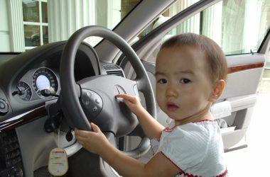 Když cestujete s dětmi, auto tomu musí být přizpůsobené
